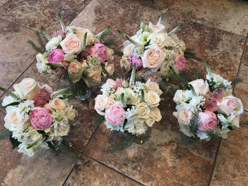 Passionate Peonies bridal package
