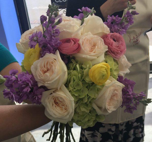 Pastel Posies bridal package