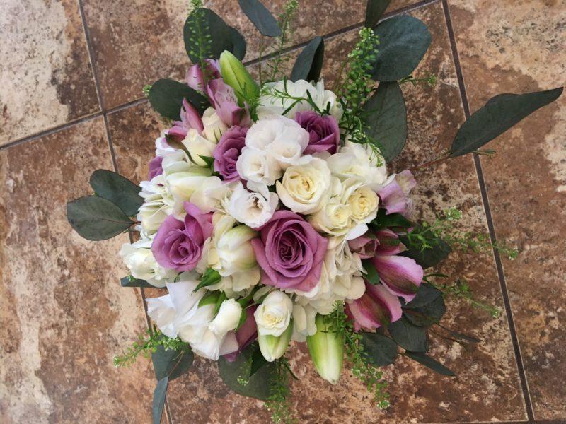 Pretty Posies bridal package
