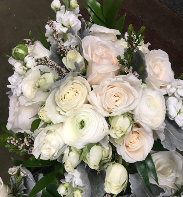 Classically White bridal package