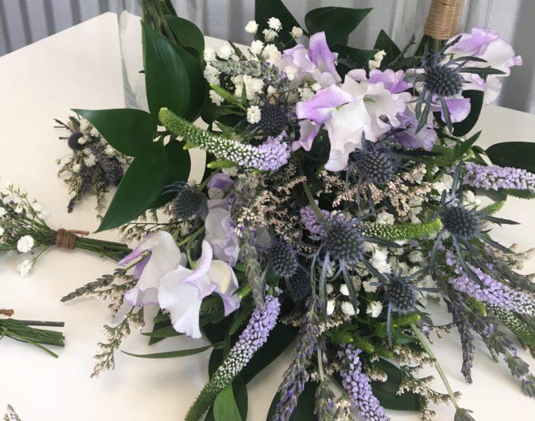 Calming Lavender bridal package