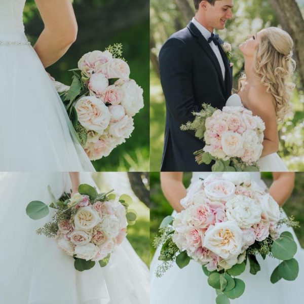 Roses, Roses, and more Roses bridal package