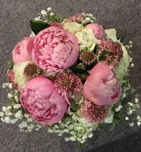 Spring Peonies bridal package
