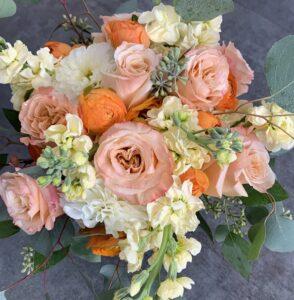 Peach Pie bridal package