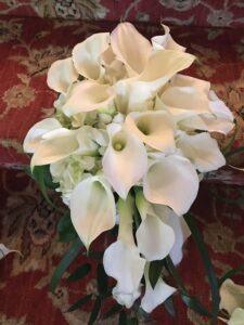 A Royal Cascade bridal package