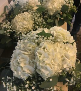 Clouds-white bridal package