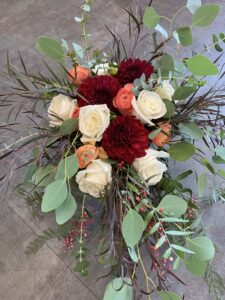 Warm and Wonderful fall tones bridal package