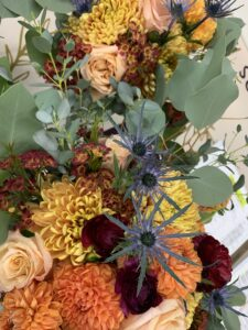 Awesome Autumn Fall Tones bridal package