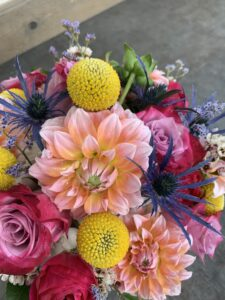 Wowsa-bright mixed colors bridal package
